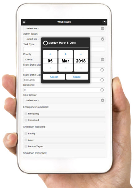 FaciliWorks Mobile CMMS Software