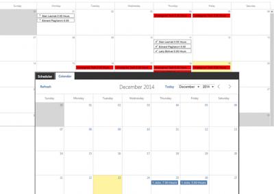 Scheduler / Calendar